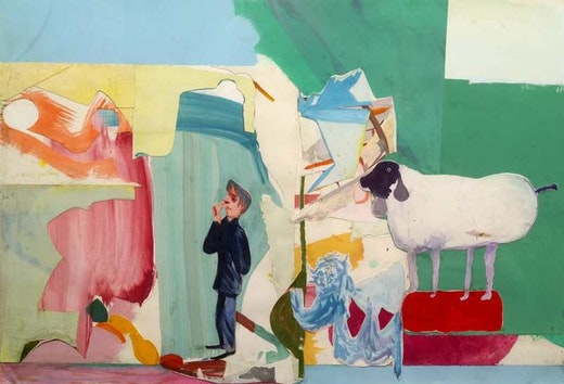 This is an artwork titled Untitled by artist Amy Sillman made in 2005