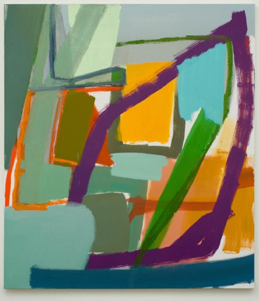 This is an artwork titled Untitled by artist Amy Sillman made in 2008