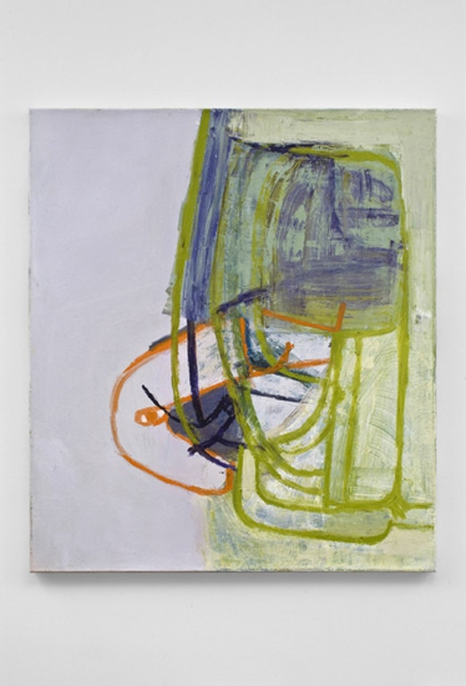 This is an artwork titled Untitled by artist Amy Sillman made in 2009