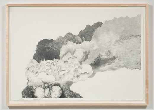 This is an artwork titled Explosion # 22 by artist Charles Gaines made in 2008
