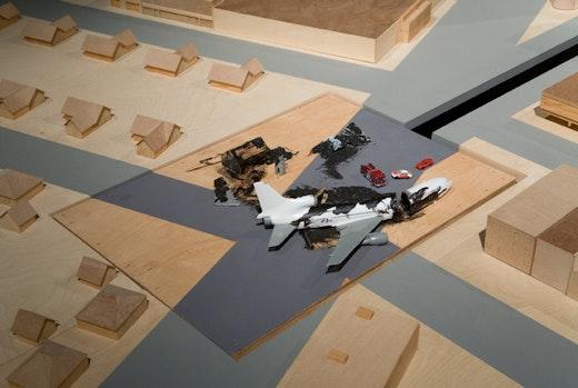 Charles Gaines Airplanecrash Clock, 1997/2007