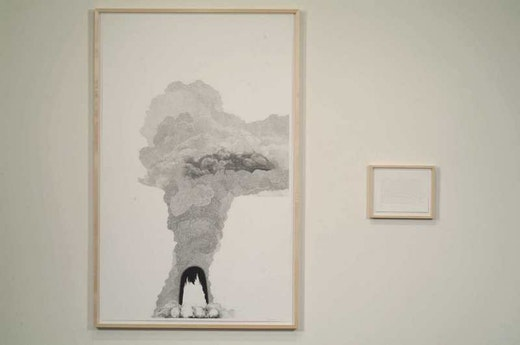 This is an artwork titled Explosion # 17 by artist Charles Gaines made in 2006