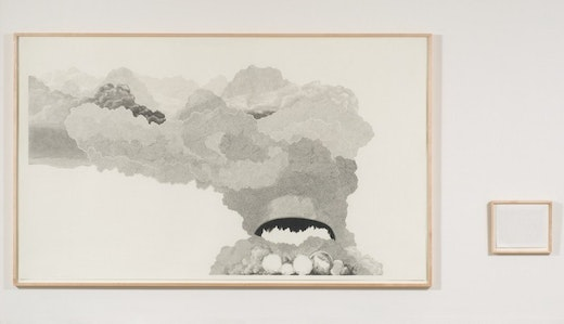 This is an artwork titled Explosion # 19 by artist Charles Gaines made in 2007