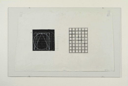 This is an artwork titled First Drawing by artist Edgar Arceneaux made in 2004