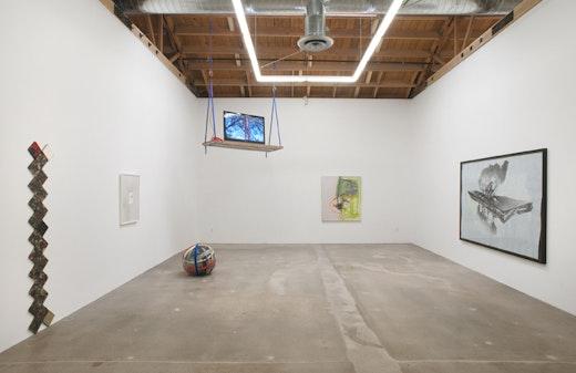 Amy Sillman, Jedediah Caesar, Andrea Bowers, Edgar Arceneaux Installation view