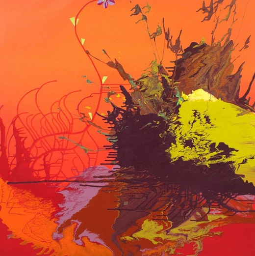 This is an artwork titled MaiTai Monsoon by artist Jane Callister made in 2006