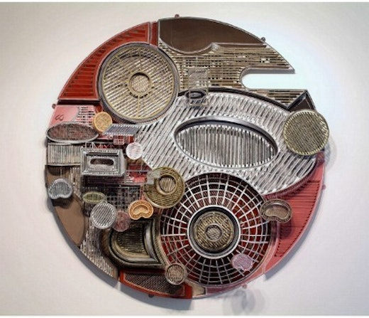 This is an artwork titled Untitled (concave / convex) by artist Jane South made in 2005