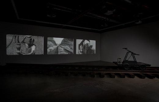 Joel Tauber Pumping, 2010 Installation view