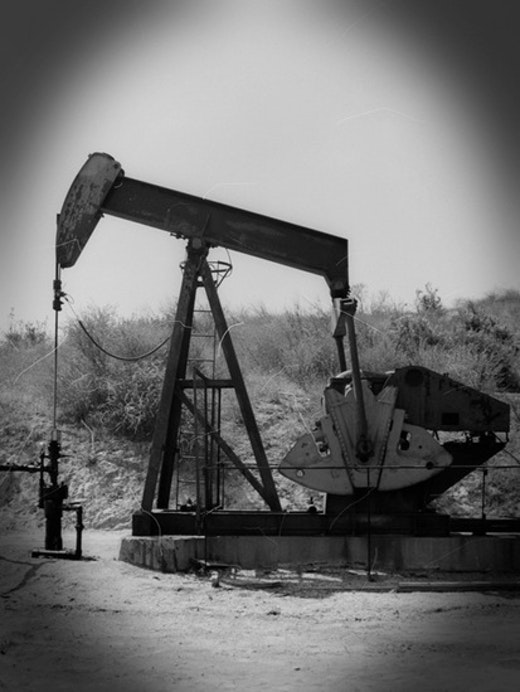 This is an artwork titled Pumping Oil by artist Joel Tauber made in 2010