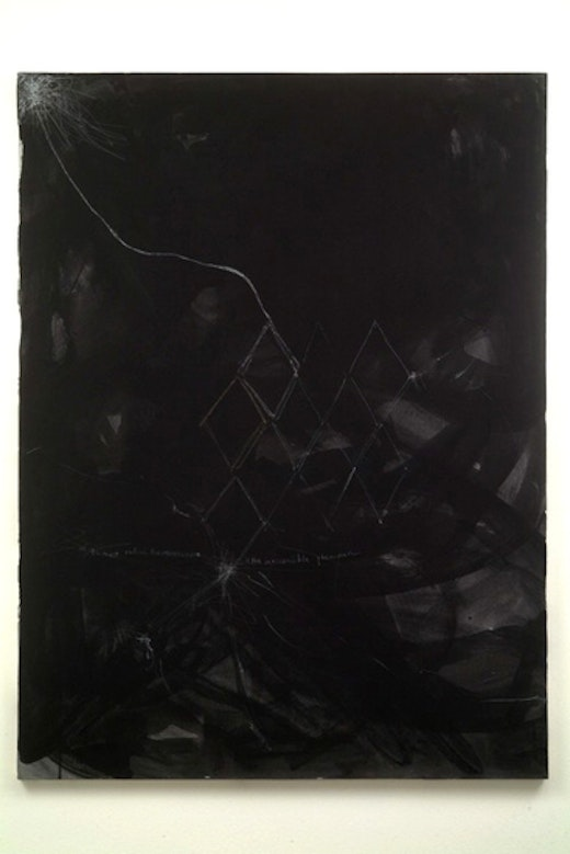 This is an artwork titled Volume 2 by artist Jutta Koether made in 2001