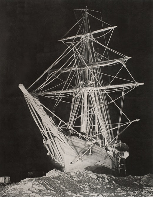 This is an artwork titled Shackleton #2 by artist Karl Haendel made in 2008
