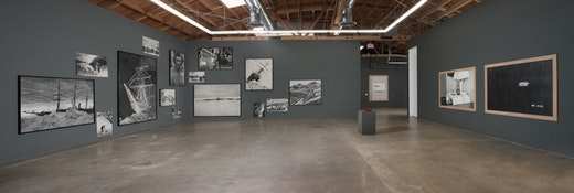 Karl Haendel: Karl Haendel: Sir Ernest Shackleton and All the Clocks in My House Installation view