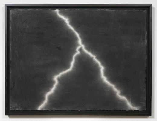 This is an artwork titled Beach Blanket Blues - Lighting #23 by artist Karl Haendel made in 2009