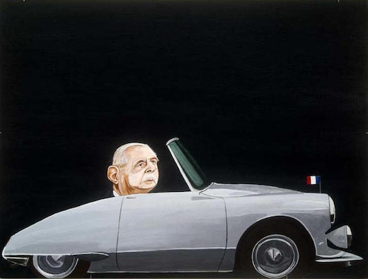 This is an artwork titled The Procession (A Frenchman) by artist Martin McMurray made in 2006
