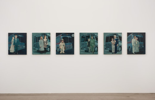 Martin McMurray: Dystopia - 1010 Years Ago Installation view