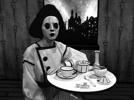 This is an artwork titled Sadie, The Saddest Sadist by artist Mary Reid Kelley & Patrick Kelley made in 2009