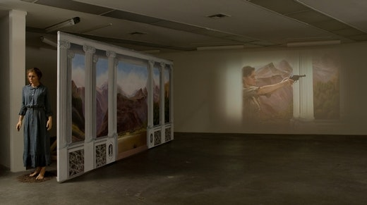 This is an artwork titled Installation View by artist Mathilde ter Heijne made in 2007