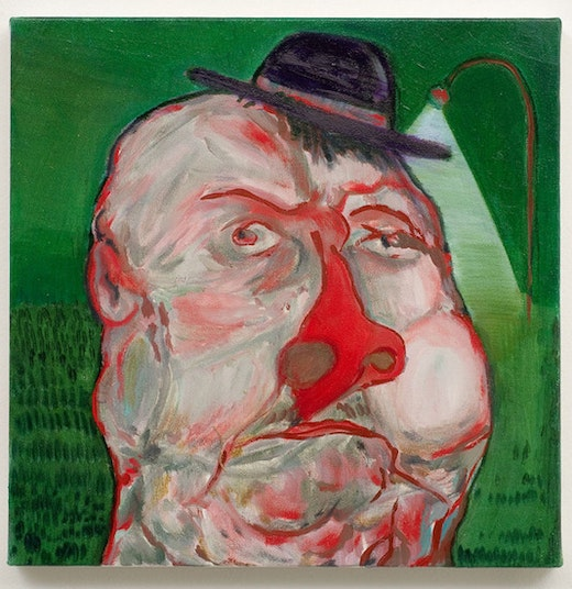 This is an artwork titled German Guy by artist Nicole Eisenman made in 2007