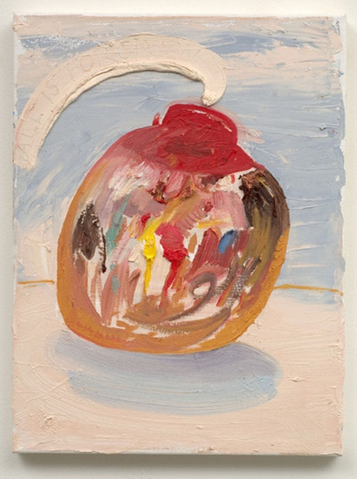 This is an artwork titled The Nipple of Human Kindness by artist Nicole Eisenman made in 2007