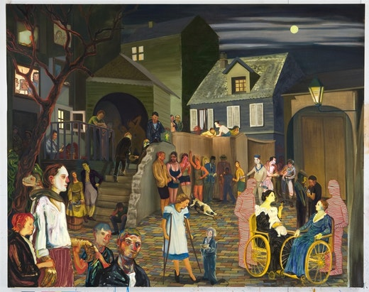 This is an artwork titled Beasley Street by artist Nicole Eisenman made in 2007