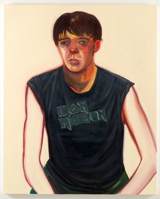 This is an artwork titled Portrait of Celeste by artist Nicole Eisenman made in 2007