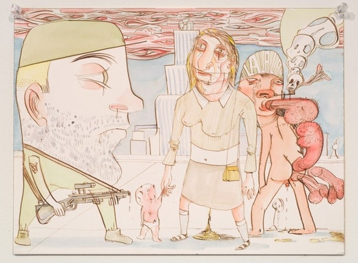 This is an artwork titled Untitled by artist Nicole Eisenman made in 2007