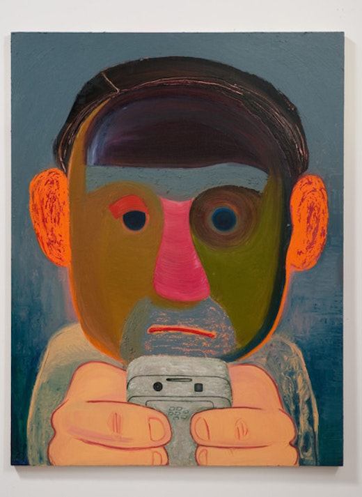 This is an artwork titled The Breakup by artist Nicole Eisenman made in 2011