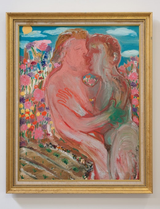This is an artwork titled Garden by artist Nicole Eisenman made in 2011