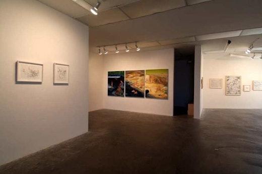 Dasha Shishkin, Nicole Eisenman, Chloe Piene Installation View