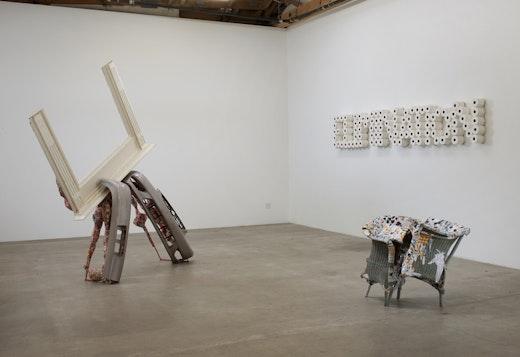 Olga Koumoundouros Installation View