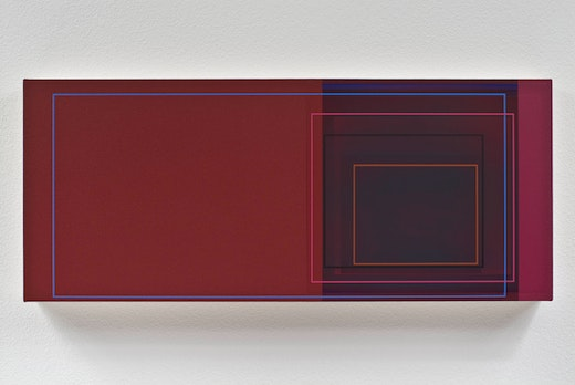 This is an artwork titled Low Glow by artist Patrick Wilson made in 2009