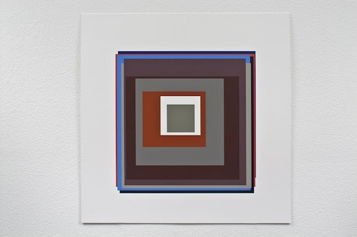 This is an artwork titled Eleven by artist Patrick Wilson made in 2009