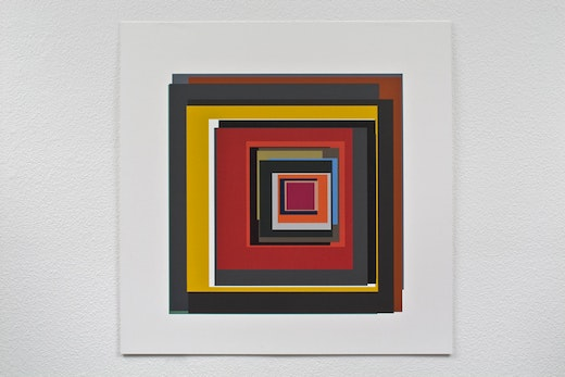 This is an artwork titled Twenty-two by artist Patrick Wilson made in 2009