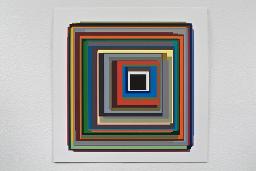 This is an artwork titled Fifty-five by artist Patrick Wilson made in 2009
