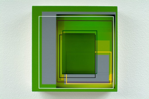 This is an artwork titled Calibration by artist Patrick Wilson made in 2009