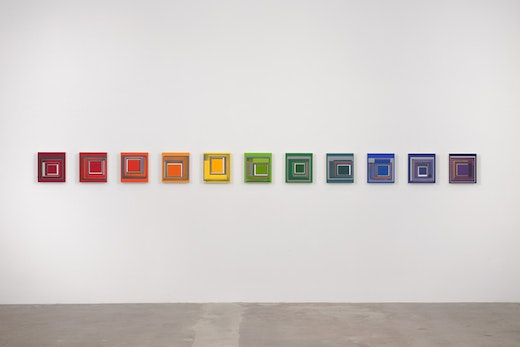 This is an artwork titled All Together Now by artist Patrick Wilson made in 2009