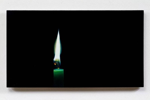 This is an artwork titled Black out by artist Robert Olsen made in 2008