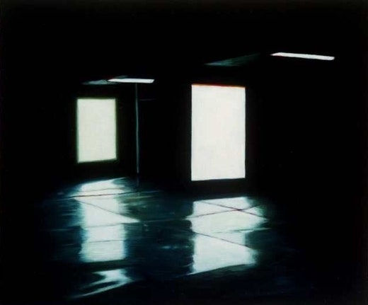 This is an artwork titled Untitled (Double Shelter) by artist Robert Olsen made in 2005