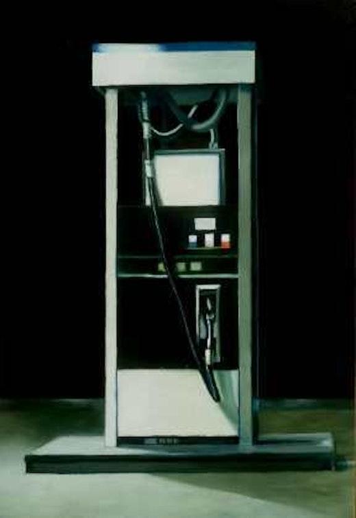 This is an artwork titled Pump (Island) by artist Robert Olsen made in 2003