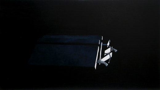 This is an artwork titled no title by artist Robert Olsen made in 2010