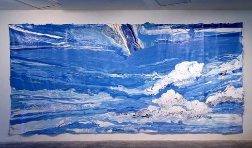 This is an artwork titled Sky by artist Rodney McMillian made in 2006