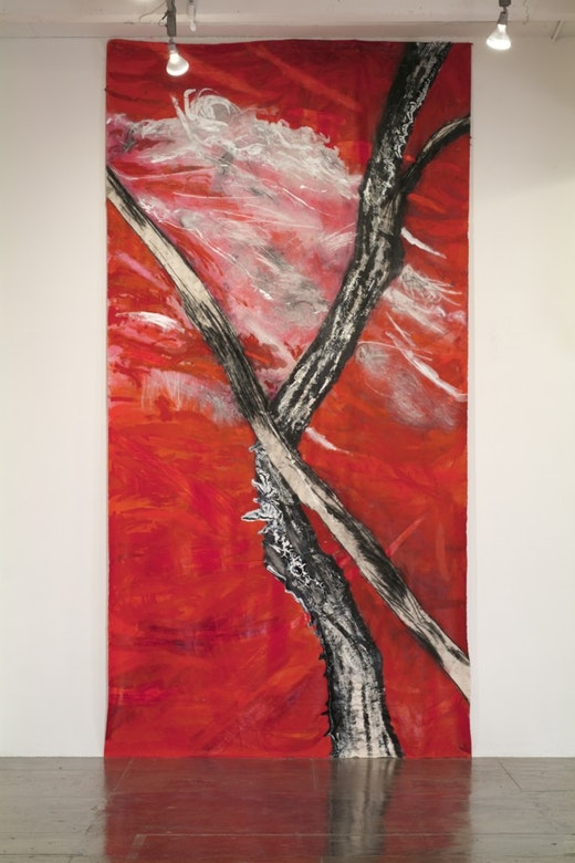 This is an artwork titled Untitled by artist Rodney McMillian made in 2008