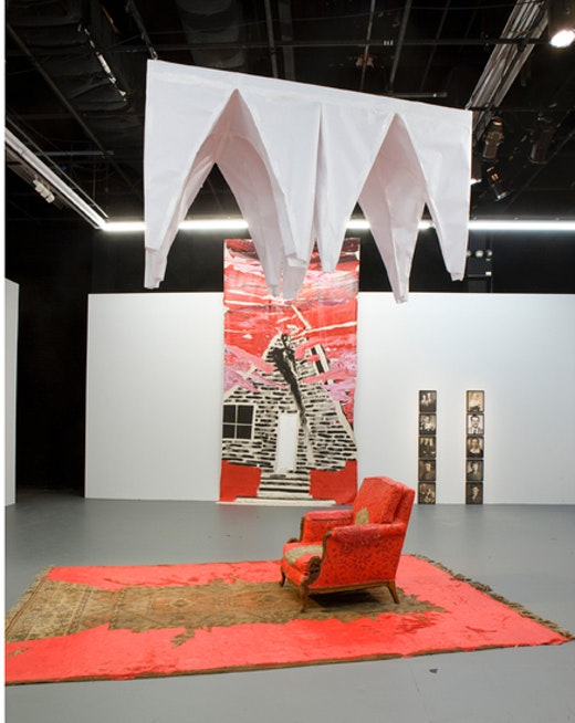 This is an artwork titled Installation view by artist Rodney McMillian made in 2008