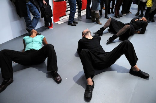 This is an artwork titled Performance by artist Rodney McMillian made in 2008