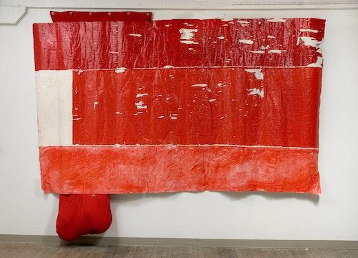Rodney McMillian Untitled (flag), 2006-2008