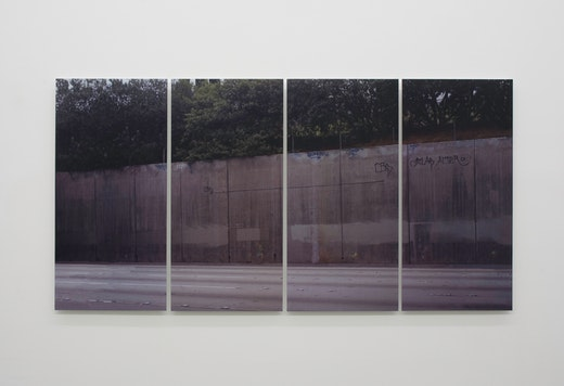 This is an artwork titled What if walls created spaces? by artist Ruben Ochoa made in 2007