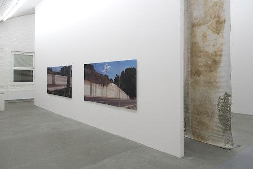 Ruben Ochoa: Fall of the Wall [paper] Installation view