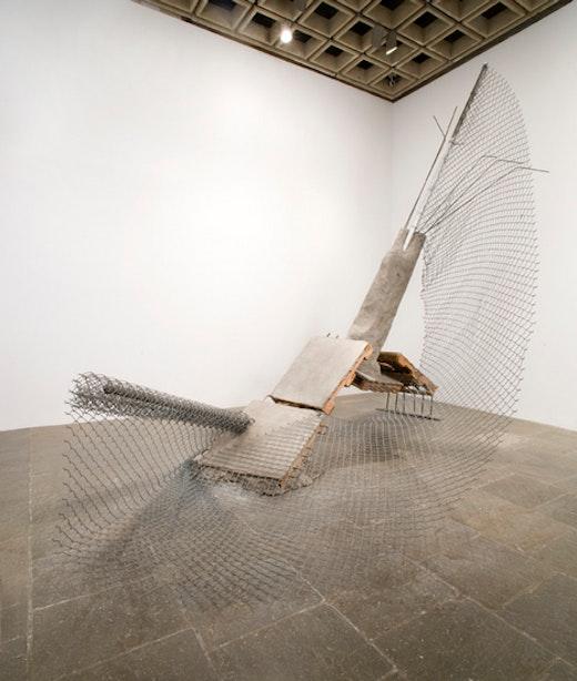 Ruben Ochoa Whitney Biennial 2008 Installation View