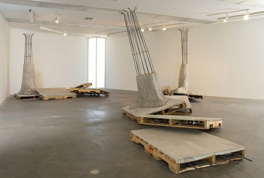 This is an artwork titled Installation View by artist Ruben Ochoa made in 2007
