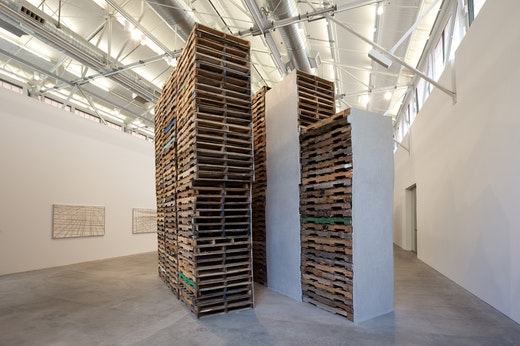 This is an artwork titled Building on the Fringes of Tomorrow by artist Ruben Ochoa made in 2010